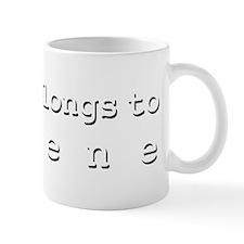 My Heart Belongs To Arlene Mug