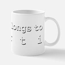 My Heart Belongs To Kurti Small Small Mug
