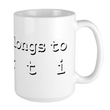 My Heart Belongs To Kurti Mug