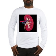 Kidney Long Sleeve T-Shirt