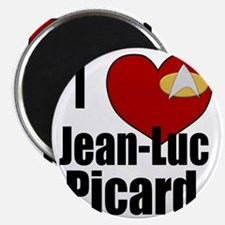 I Love Jean-Luc Picard Magnet