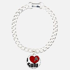 I Love Sulu Charm Bracelet, One Charm