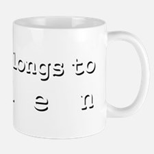 My Heart Belongs To Belen Mug