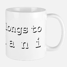 My Heart Belongs To Leilani Mug
