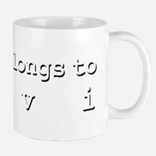 My Heart Belongs To Levi Mug