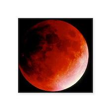 """Lunar eclipse Square Sticker 3"""" x 3"""""""