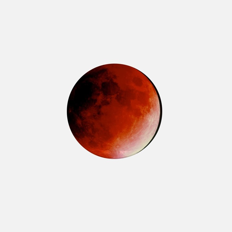 Lunar eclipse Mini Button