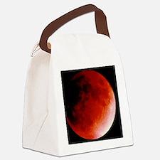 Lunar eclipse Canvas Lunch Bag