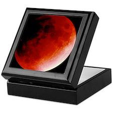 Lunar eclipse Keepsake Box