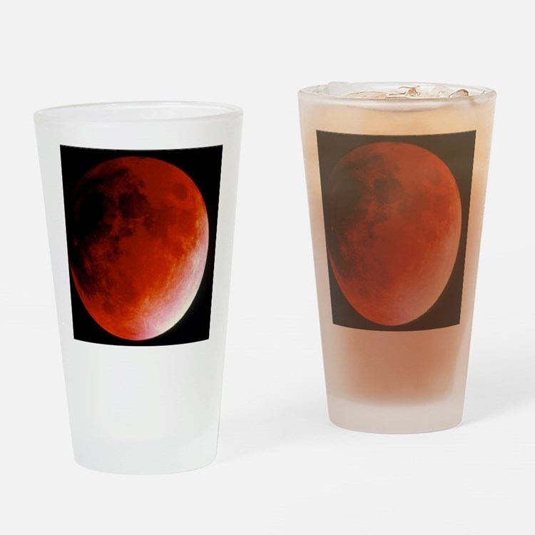 Lunar eclipse Drinking Glass