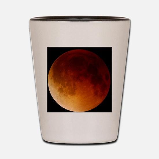 Lunar eclipse, 28/08/2007 Shot Glass