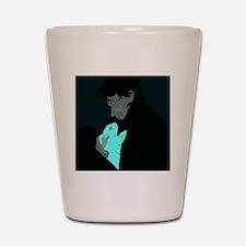 Sherlock and Bluebell Shot Glass