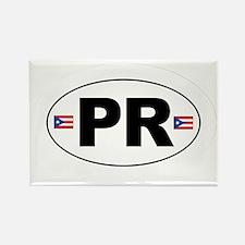 Puerto Rico - PR Rectangle Magnet