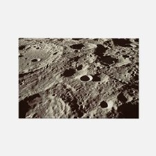 Lunar surface Rectangle Magnet