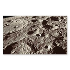 Lunar surface Decal