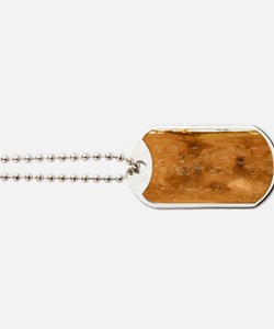 Mars topographical map, satellite image Dog Tags