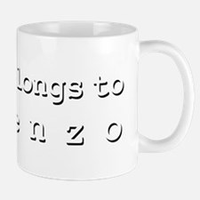 My Heart Belongs To Lorenzo Mug