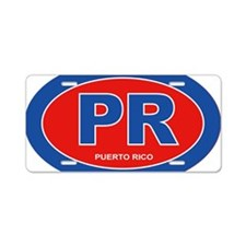 Puerto Rico - PR Aluminum License Plate