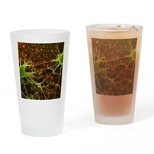 Nerve cell growth Drinking Glass