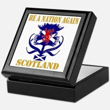 Be a nation again Scotland Keepsake Box
