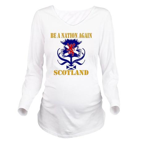 Be a nation again Sc Long Sleeve Maternity T-Shirt
