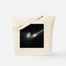 Mice colliding galaxies Tote Bag