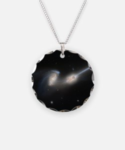 Mice colliding galaxies Necklace
