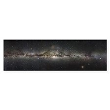 Milky Way Bumper Sticker