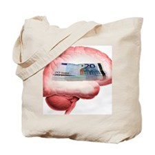 Money obsession, artwork Tote Bag