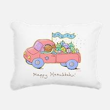 dreidel delivery Rectangular Canvas Pillow