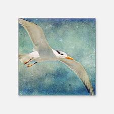 """Seagull Square Sticker 3"""" x 3"""""""
