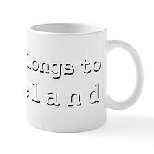My Heart Belongs To Cleveland Mug