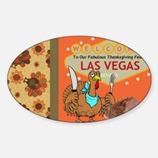 Las Vegas Thanksgiving Feast Decal