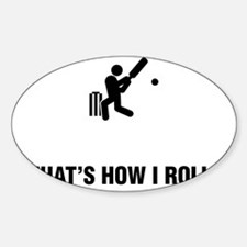 Cricket-ABG1 Sticker (Oval)