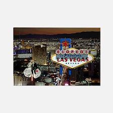 Eloped In Las Vegas Rectangle Magnet