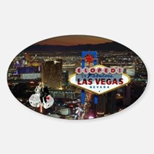 Eloped In Las Vegas Decal