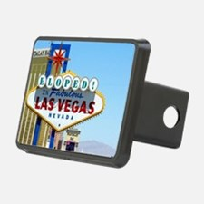 Eloped In Las Vegas Card Hitch Cover