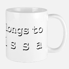 My Heart Belongs To Marissa Mug