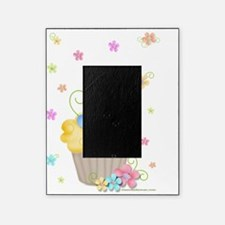 Cupcakes and Flowers Picture Frame