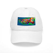 Normal foot, X-ray Baseball Cap