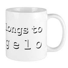 My Heart Belongs To Deangelo Mug