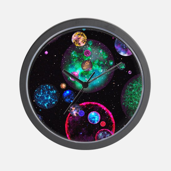 Multiple universes Wall Clock