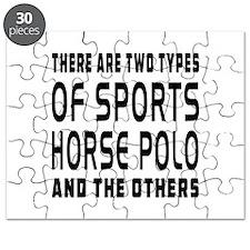 Horse Polo Designs Puzzle
