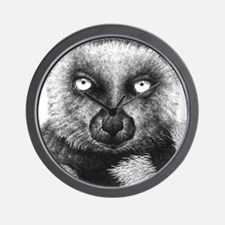 Ring-tailed Lemur Panel Print Wall Clock