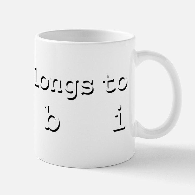 My Heart Belongs To Debi Mug
