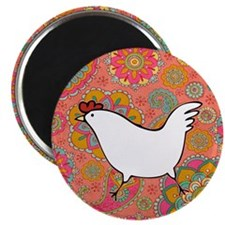 Paisley Chicken Magnet