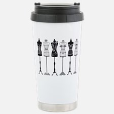 Vintage fashion mannequ Stainless Steel Travel Mug