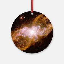 Planetary nebula Hubble 5 Round Ornament
