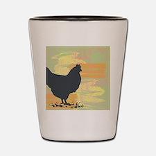Chicken Shot Glass