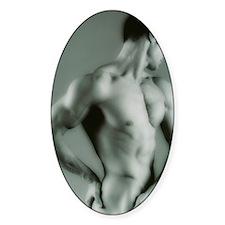 Nude man Decal